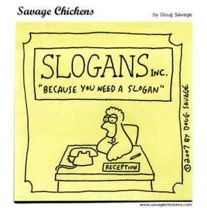 Do weird and unusual slogans work?
